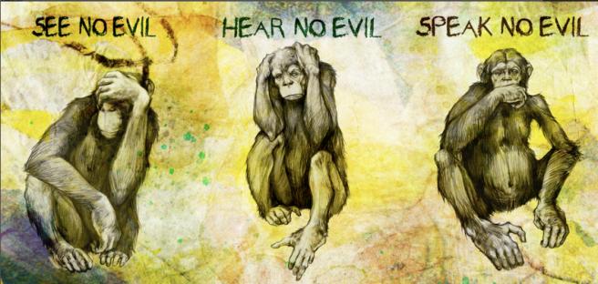 3 macacos sábios great